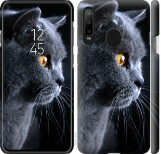 Чехол на Samsung Galaxy A8S Красивый кот