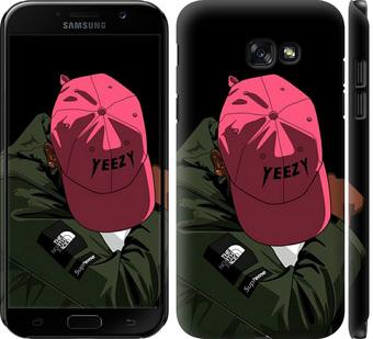 Чехол на Samsung Galaxy A7 (2017) logo de yeezy