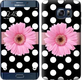 Чехол на Samsung Galaxy S6 Edge Plus G928 Горошек 2