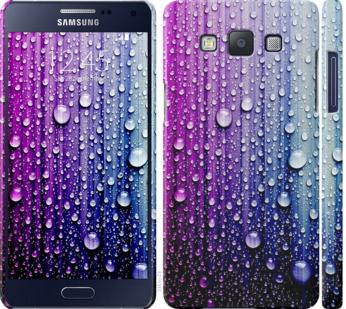 Чехол на Samsung Galaxy A5 A500H Капли воды