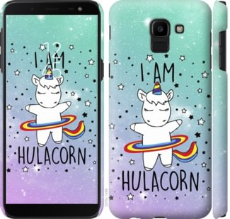 Чехол на Samsung Galaxy J6 2018 Im hulacorn