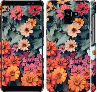 Чехол на Samsung Galaxy A8 Plus 2018 A730F Beauty flowers