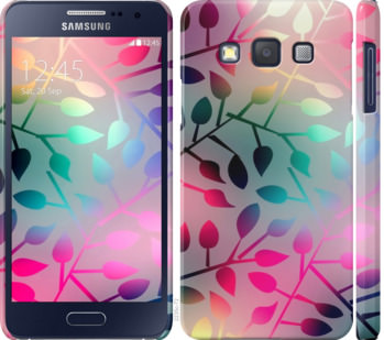 Чехол на Samsung Galaxy A3 A300H Листья