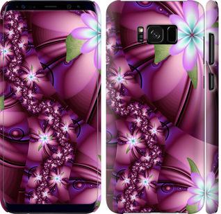 Чехол на Samsung Galaxy S8 Plus Цветочная мозаика