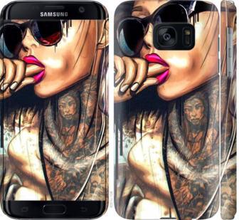 Чехол на Samsung Galaxy S7 G930F Девушка в тату