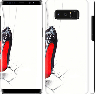 Чехол на Samsung Galaxy Note 8 Devil Wears Louboutin