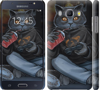 Чехол на Samsung Galaxy J5 (2016) J510H gamer cat