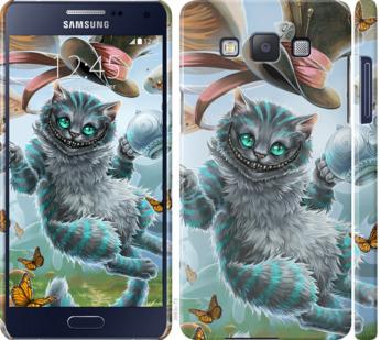 Чехол на Samsung Galaxy A5 A500H Чеширский кот 2