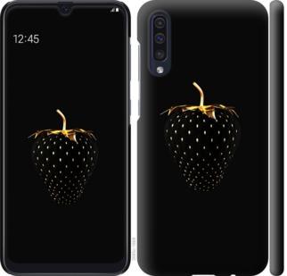 Чехол на Samsung Galaxy A50 2019 A505F Черная клубника