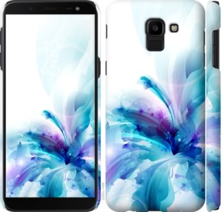 Чехол на Samsung Galaxy J6 2018 цветок