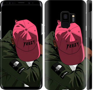 Чехол на Samsung Galaxy S9 logo de yeezy