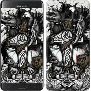 Чехол на Samsung Galaxy Note 7 Duos N930F Тату Викинг