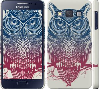 Чехол на Samsung Galaxy A3 A300H Сова 2