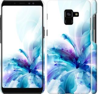 Чехол на Samsung Galaxy A8 Plus 2018 A730F цветок