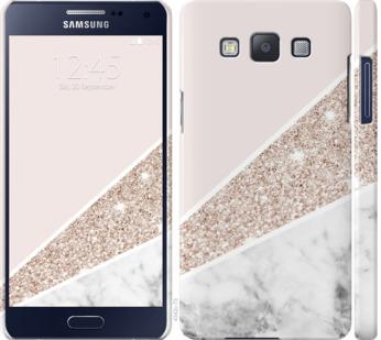 Чехол на Samsung Galaxy A5 A500H Пастельный мрамор