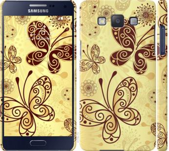 Чехол на Samsung Galaxy A5 A500H Красивые бабочки