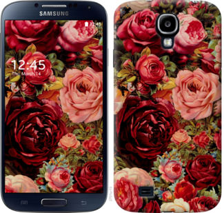 Чехол на Samsung Galaxy S4 i9500 Цветущие розы