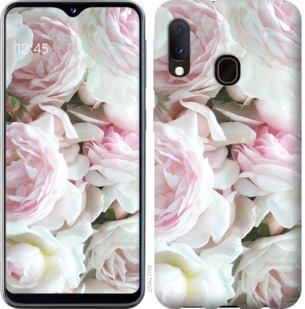 Чехол на Samsung Galaxy A20e A202F Пионы v2