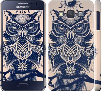 Чехол на Samsung Galaxy A3 A300H Узорчатая сова