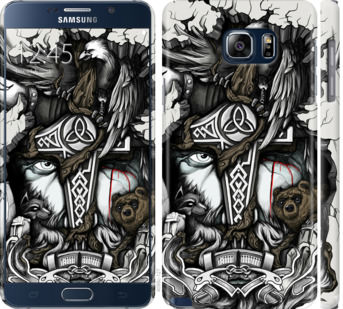 Чехол на Samsung Galaxy Note 5 N920C Тату Викинг