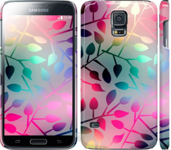 Чехол на Samsung Galaxy S5 g900h Листья