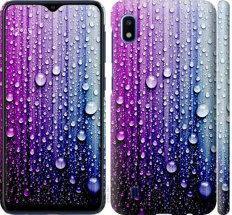 Чехол на Samsung Galaxy A10 2019 A105F Капли воды