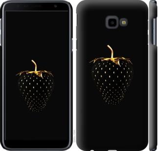 Чехол на Samsung Galaxy J4 Plus 2018 Черная клубника