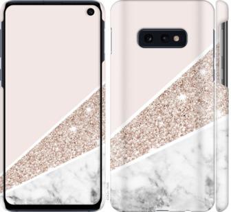 Чехол на Samsung Galaxy S10e Пастельный мрамор