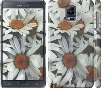 Чехол на Samsung Galaxy Note 4 N910H Ромашки v2