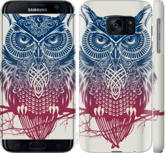 Чехол на Samsung Galaxy S7 G930F Сова 2