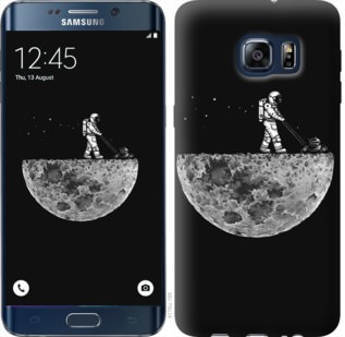 Чехол на Samsung Galaxy S6 Edge Plus G928 Moon in dark