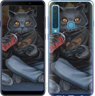 Чехол на Samsung Galaxy A9 (2018) gamer cat
