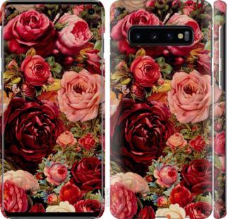 Чехол на Samsung Galaxy S10 Цветущие розы