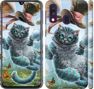 Чехол на Samsung Galaxy A40 2019 A405F Чеширский кот 2
