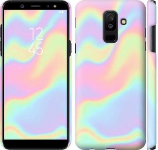 Чехол на Samsung Galaxy A6 Plus 2018 пастель