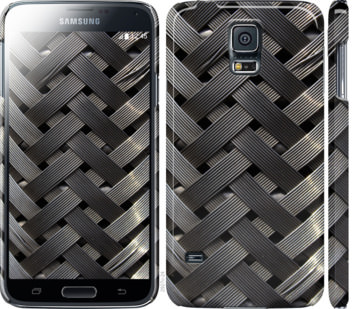 Чехол на Samsung Galaxy S5 g900h Металлические фоны