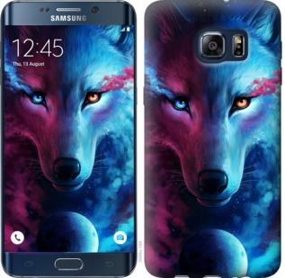 Чехол на Samsung Galaxy S6 Edge Plus G928 Арт-волк