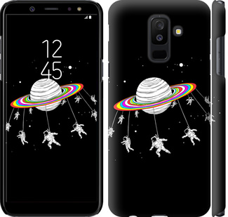 Чехол на Samsung Galaxy A6 Plus 2018 Лунная карусель