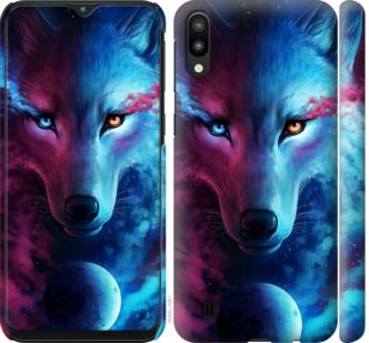 Чехол на Samsung Galaxy M10 Арт-волк