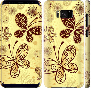 Чехол на Samsung Galaxy S8 Plus Красивые бабочки