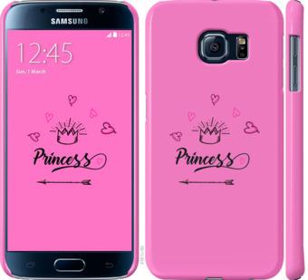 Чехол на Samsung Galaxy S6 G920 Princess