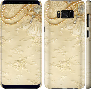 Чехол на Samsung Galaxy S8 Plus Кружевной орнамент