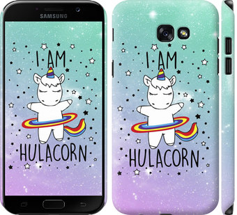 Чехол на Samsung Galaxy A7 (2017) Im hulacorn