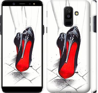 Чехол на Samsung Galaxy A6 Plus 2018 Devil Wears Louboutin