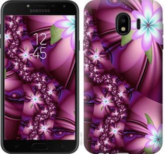 Чехол на Samsung Galaxy J4 2018 Цветочная мозаика