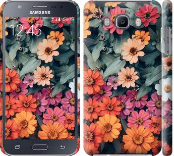 Чехол на Samsung Galaxy J7 (2016) J710F Beauty flowers