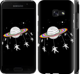 Чехол на Samsung Galaxy A3 (2017) Лунная карусель
