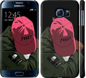 Чехол на Samsung Galaxy S6 G920 logo de yeezy