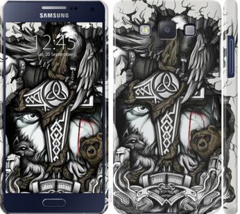 Чехол на Samsung Galaxy A5 A500H Тату Викинг