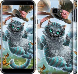 Чехол на Samsung Galaxy J4 Plus 2018 Чеширский кот 2